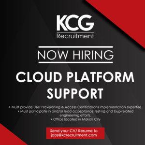 Cloud Platform Support - KC Global Talent Solutions
