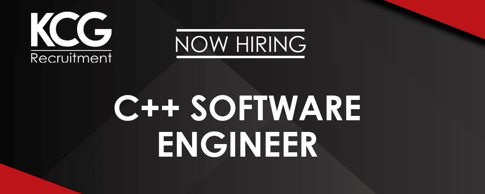 C++ Software Engineer -min