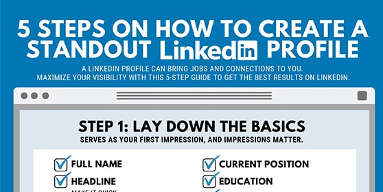 5 steps on how to create standout profile-min