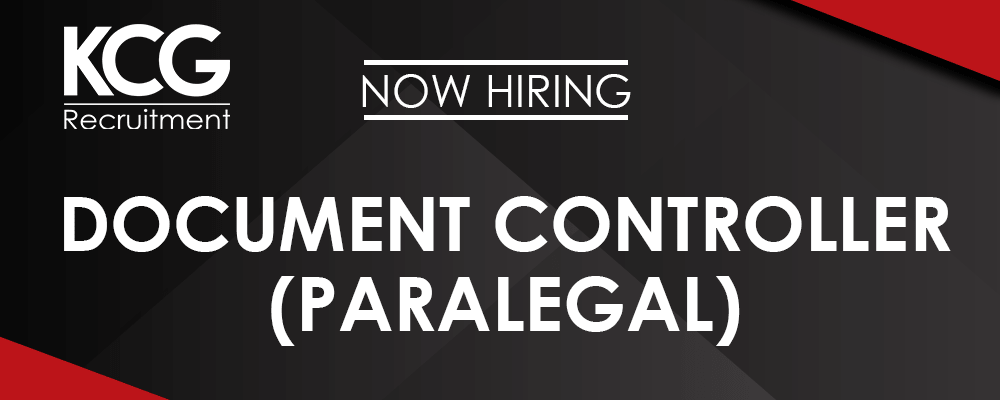 Document Controller (Paralegal) -min