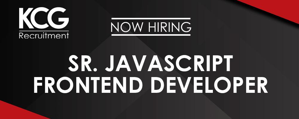 Sr. Javascript Frontend Developer -min
