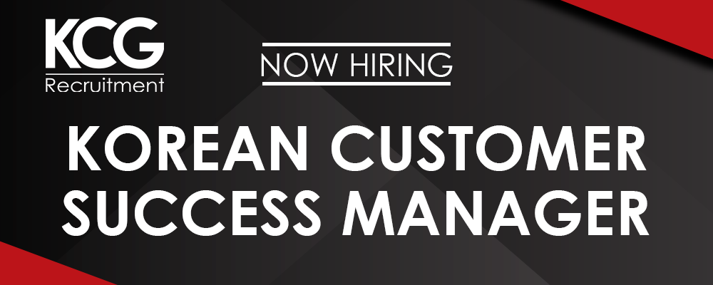 Korean Customer Success Manager