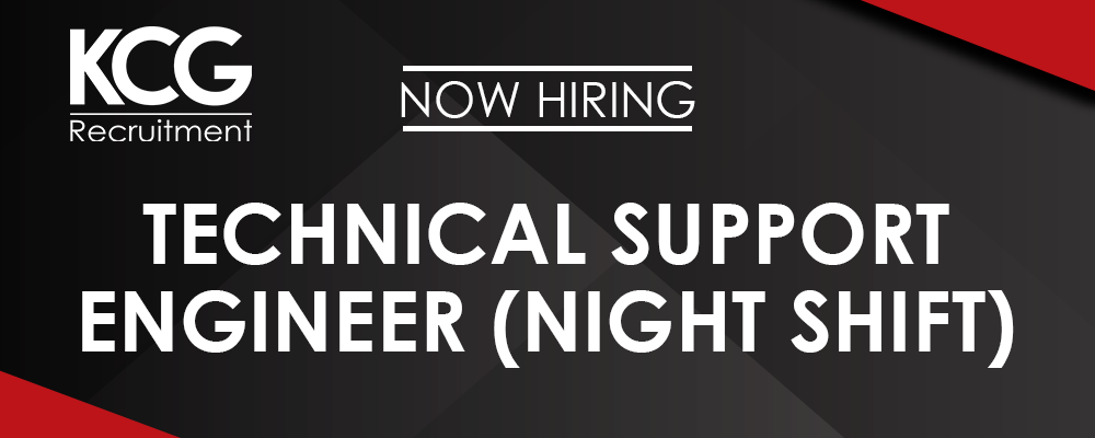 Technical Support Engineer (Night Shift)