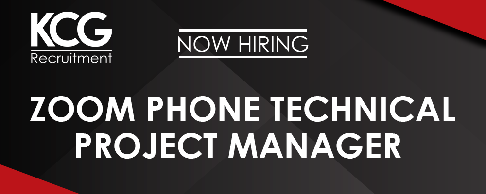 Zoom Phone Technical Project Manager