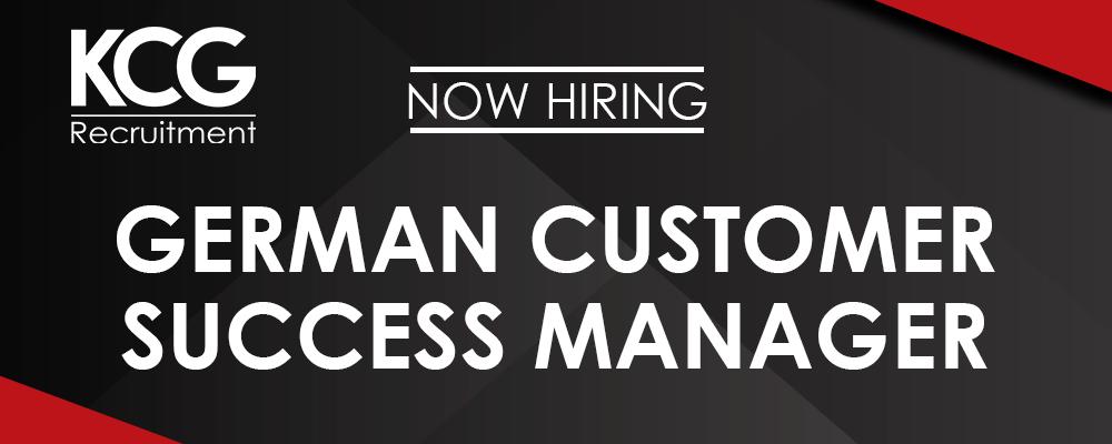 German Customer Success Manager