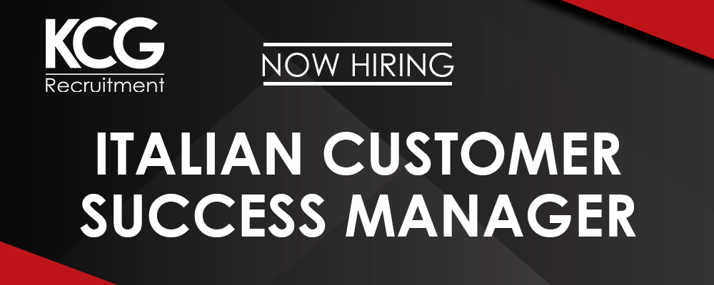 Italian Customer Success Manager