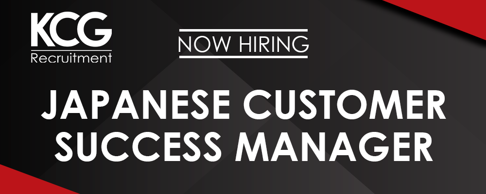 Japanese Customer Success Manager