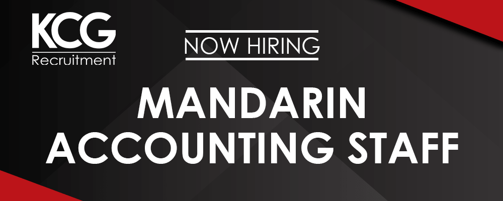 Mandarin Accounting Staff