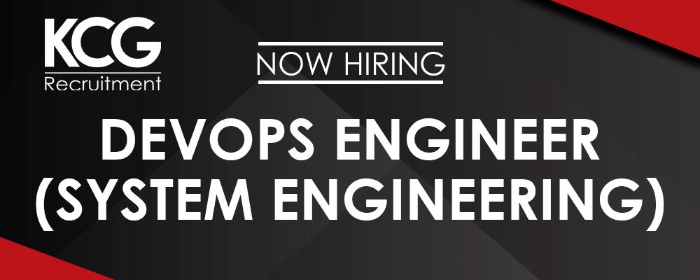 DevOps Engineer (System Engineering)