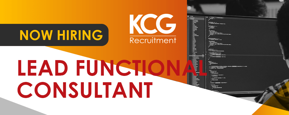 Lead Functional Consultant