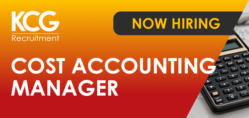 Cost Accounting Manager
