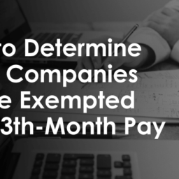 DOLE 13th Month Pay