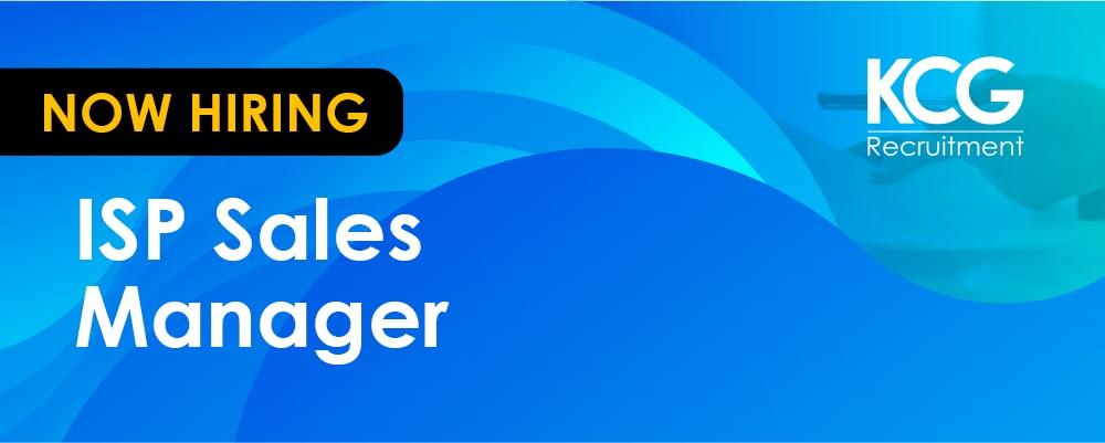 ISP Sales Manager - min
