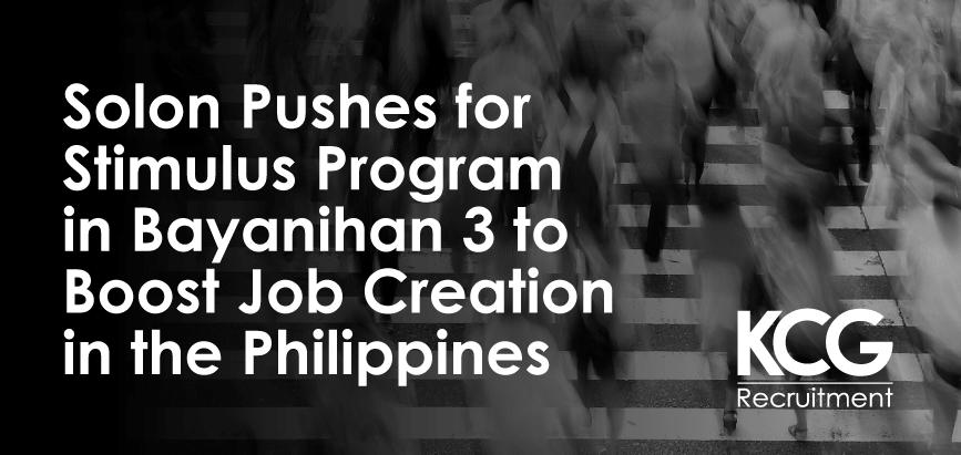 Stimulus Program Job Creation